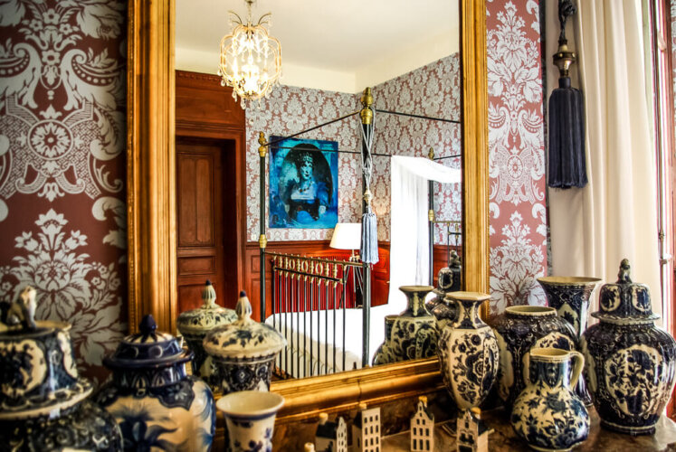 Blue Bedroom- Chateau Montjoi2